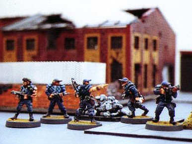 Prepainted Metal SWAT Team